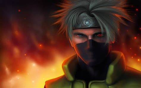Imagenes En 3d De Kakashi | kakashi sharingan wallpapers wallpaper cave