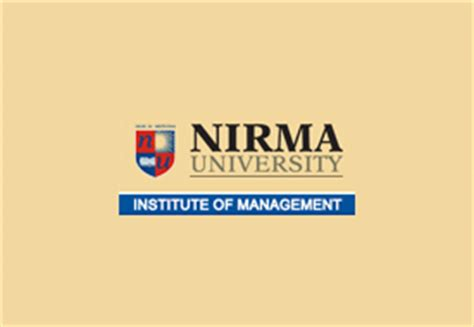 Nirma Mba by Integrated Mba In India Integrated Mba Colleges