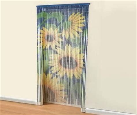 fly curtains for doors bamboo sunflower door beaded curtain insects fly screen