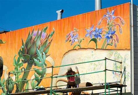 How To Paint Mural On Wall noe valley mural by mona caron san francisco