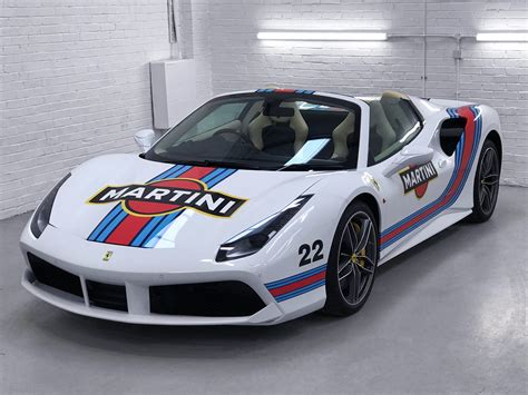 martini livery motorcycle 488 spyder martini livery personal vehicle wrap