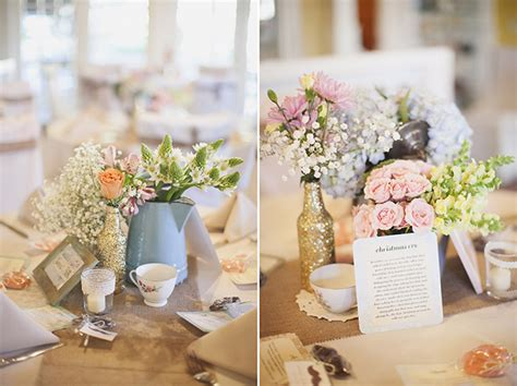 Handmade Centerpieces For Weddings - vintage pink handmade wedding grace