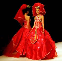 Red Chinese Wedding Dress » Home Design 2017
