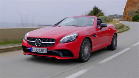 Amg Slc 43 by 2017 Mercedes Amg Slc 43 Sights And Sounds Autoevolution
