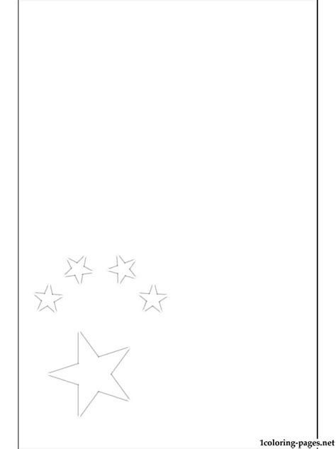 people s republic of china flag coloring page coloring pages