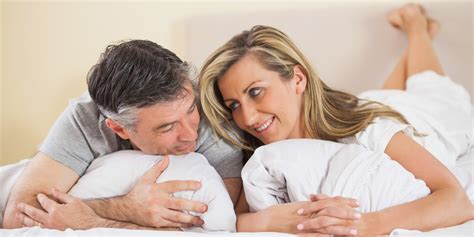 couple in bed how to have the best sex of your life during menopause