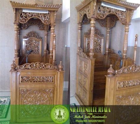 Mimbar Jati Untuk Masjid model mimbar masjid kubah harga termurah di jepara