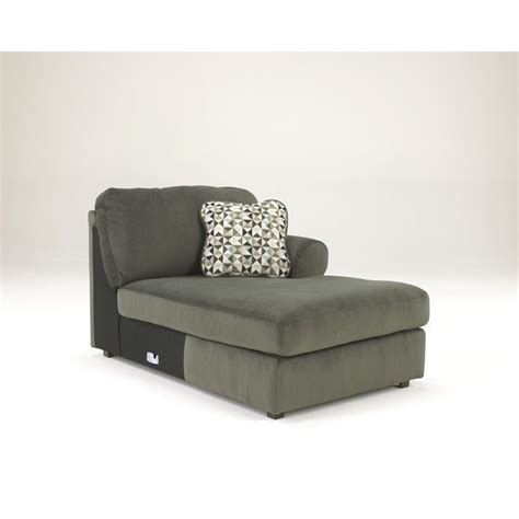 ashley furniture sectional microfiber ashley jessa place 3 piece microfiber right chaise