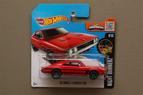 wheels 2016 nightburnerz 69 dodge charger 500
