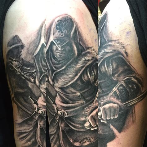 assassins creed tattoos amazing assassin s creed tattoos page 4 artist