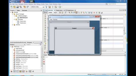 create mdi form with netbeans doovi