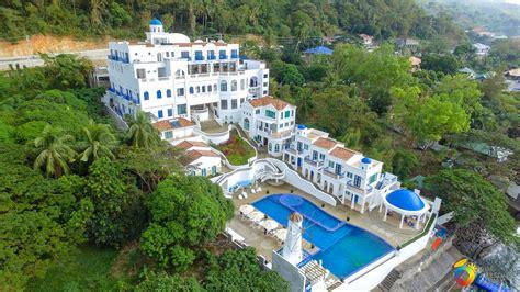 Blue Bedrooms by Camp Netanya Santorini Inspired Resort Amp Spa In Batangas