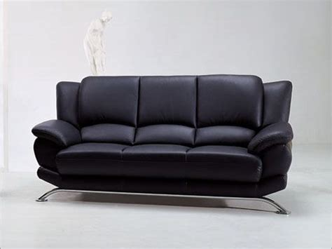 Contemporary Leather Sofa Rogers Contemporary Leather Sofa Prime Classic Design