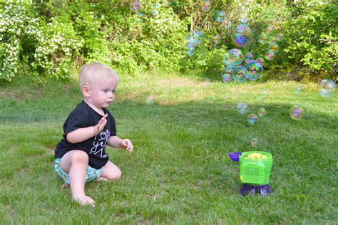 backyard bubble interactive kids yard activities mommy scene