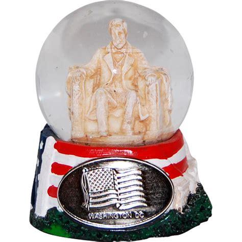 washington dc lincoln memorial mini snow globe 2 5 quot h