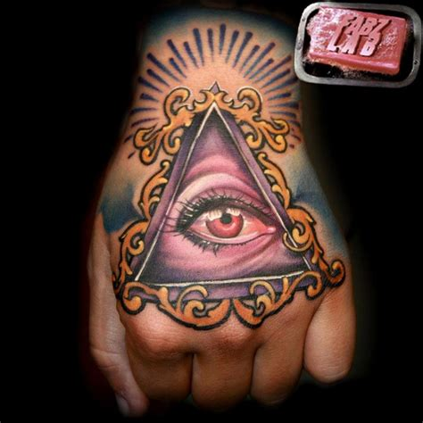 hand of god tattoo eye images designs