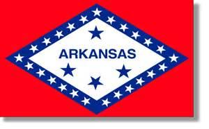 of arkansas colors state flag descriptions