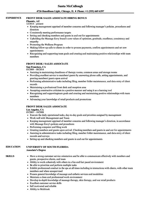 skills for a sales associate resume resume for study