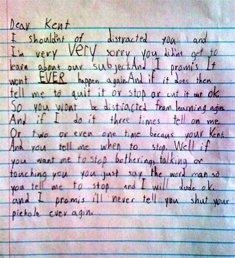 Apology Letter To Victim S Family apology letter template to from kid letter