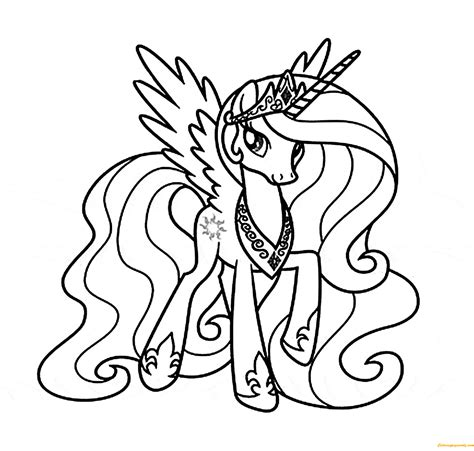 princess celestia coloring page princess celestia coloring page free coloring pages