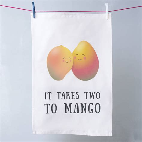 fruit puns fruit pun tea towel by oakdene designs