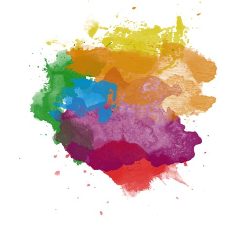 color splatter paint splatter transparent png stickpng