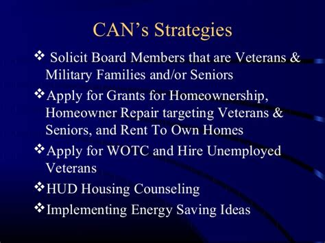 community network s senior and veteran housing