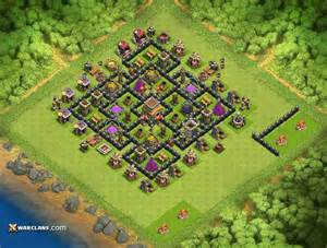 Coc Lvl 8 War Base » Home Design 2017