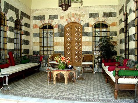 Middle Eastern Dining Room by