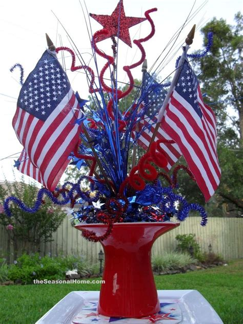 fourth of july centerpieces centerpiece july 4th