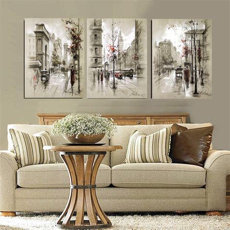 Harga Seni Abstrak Series by Gaya Modern Abstrak Lukisan Minyak Kanvas Retro Jalan