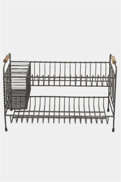 Industrial Dish Drying Rack by Vintage Wire Dish Drainer Rack Decorator S Notebook