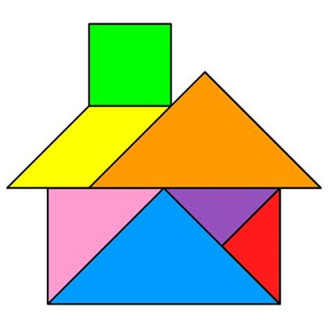 figuras geometricas que forman el tangram m 225 s de 25 ideas incre 237 bles sobre tangram en pinterest