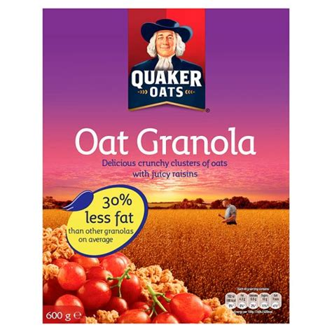 Combywide Cereal With Oat 600g quaker oat granola cereal 600g groceries tesco groceries