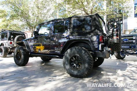Blue 4 Door Jeep 2013 Sema Lod Blue 4 Door Jeep Jk Wrangler