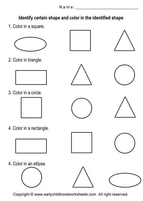 printable shapes crafts basic shapes worksheets coloring shapes worksheets