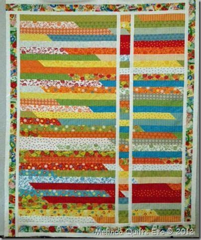 How To Make A Jelly Roll Race Quilt by Variation On A Jelly Roll Race Quilts And Quilting
