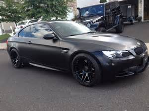 mod bargains matte black bmw m3 on concave