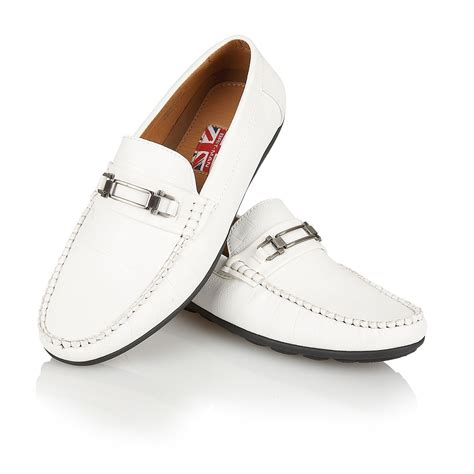 mens designer loafers sale mens designer leather look italian loafers casual moccasin