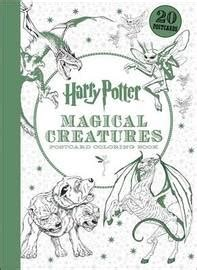 harry potter coloring book nz harry potter magical creatures postcard coloring book