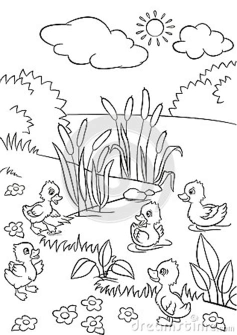 little quack coloring pages home sketch coloring page