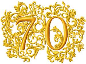 70th anniversary color abc designs anniversary numbers machine embroidery designs