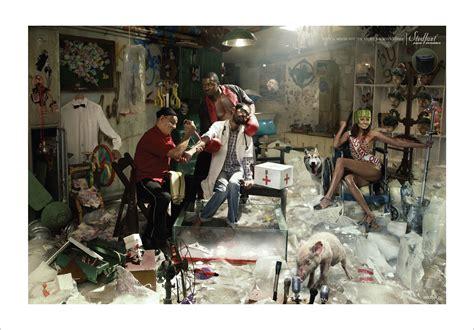 cocaine room print ad stedfast locker room drugs