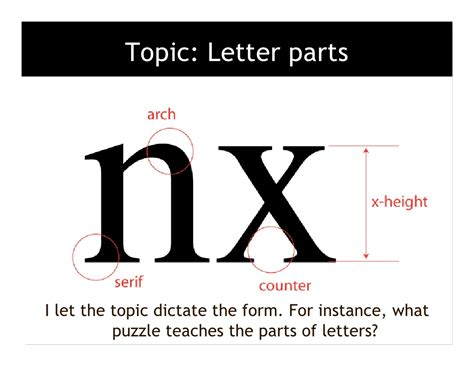 three letter parts topic letter parts i let 1669