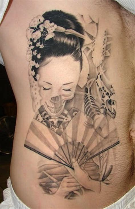 latest design tattoos for girl geisha tattoos page 4