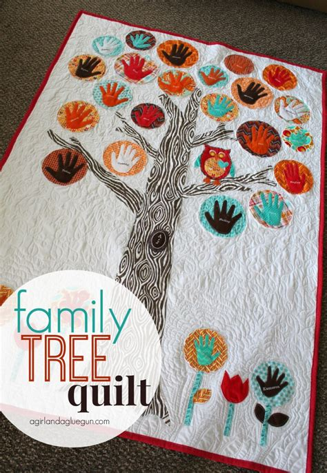 Family Tree Quilt Pattern by Family Tree Quilt On Crown Royal Quilt