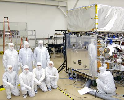 how to clean air in room nasa nasa s new gamma satellite currently lodging in a comfortable clean room