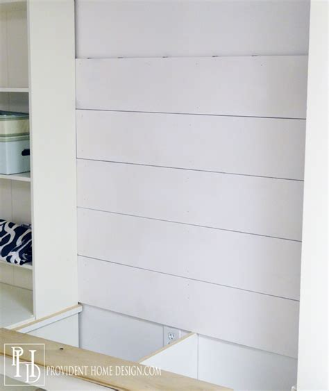 Shiplap Wall Boards How To Install Shiplap Provident Home Design