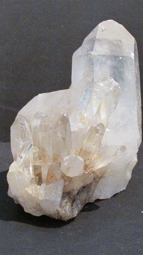 large quartz rock cluster specimens at 1stdibs