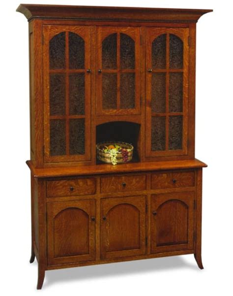 Hutch Email Bunker Hill 3 Door Hutch Amish Dining Room Furniture